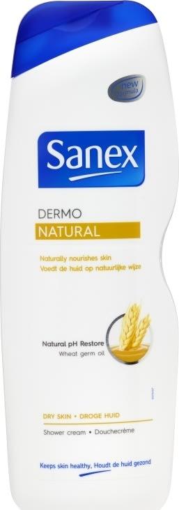 Sanex Dermo Natural Showergel, 1000 ml