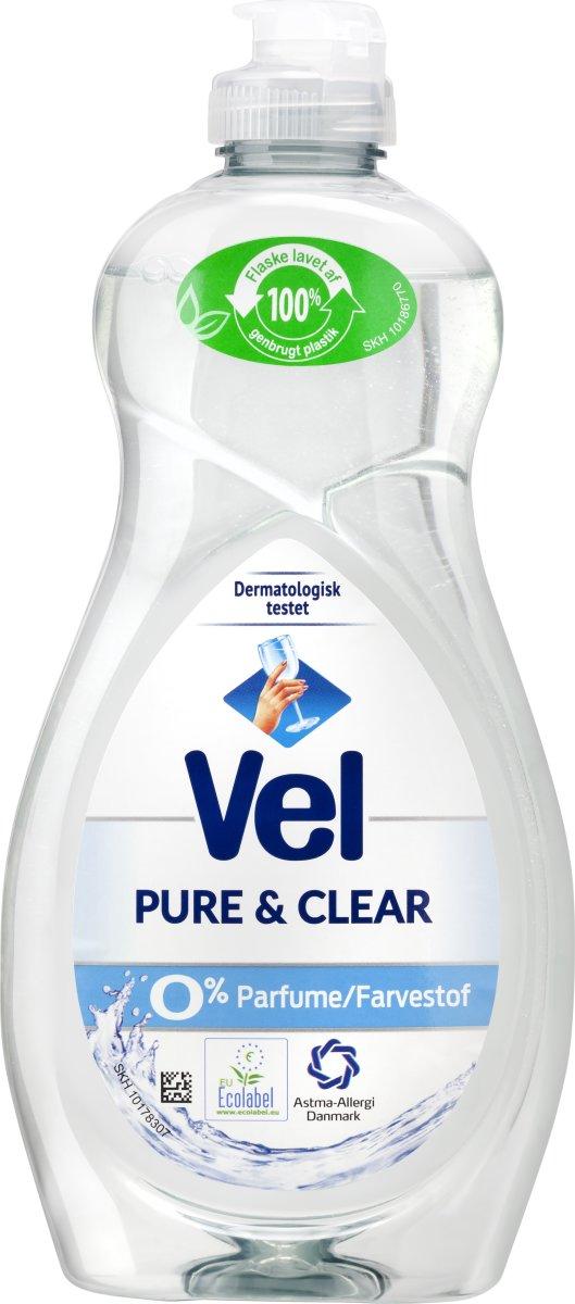 Vel Opvaskemiddel, Pure & Clean, 500 ml