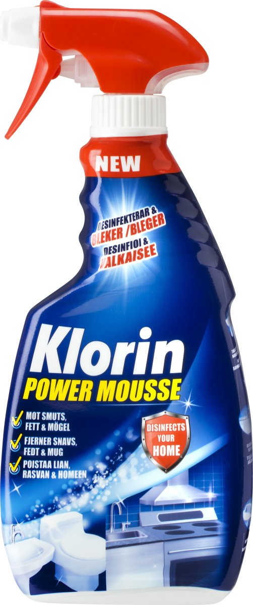 Klorin Power Mousse Spray, 500 ml