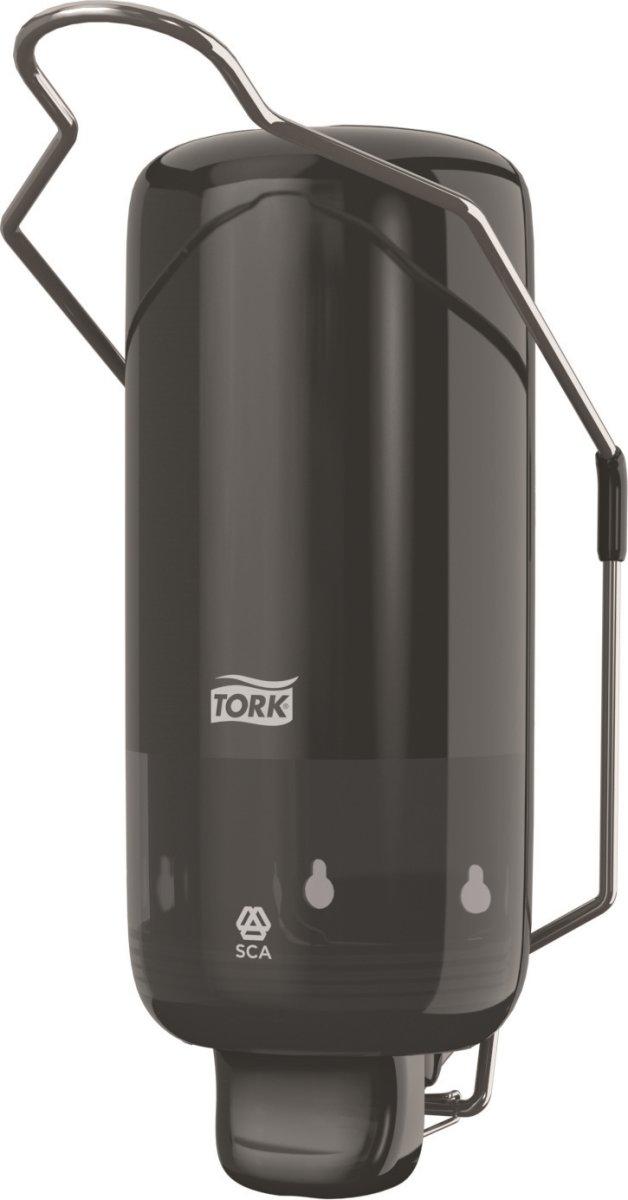 Tork S1 Dispenser Sæbe m. albuegreb, sort
