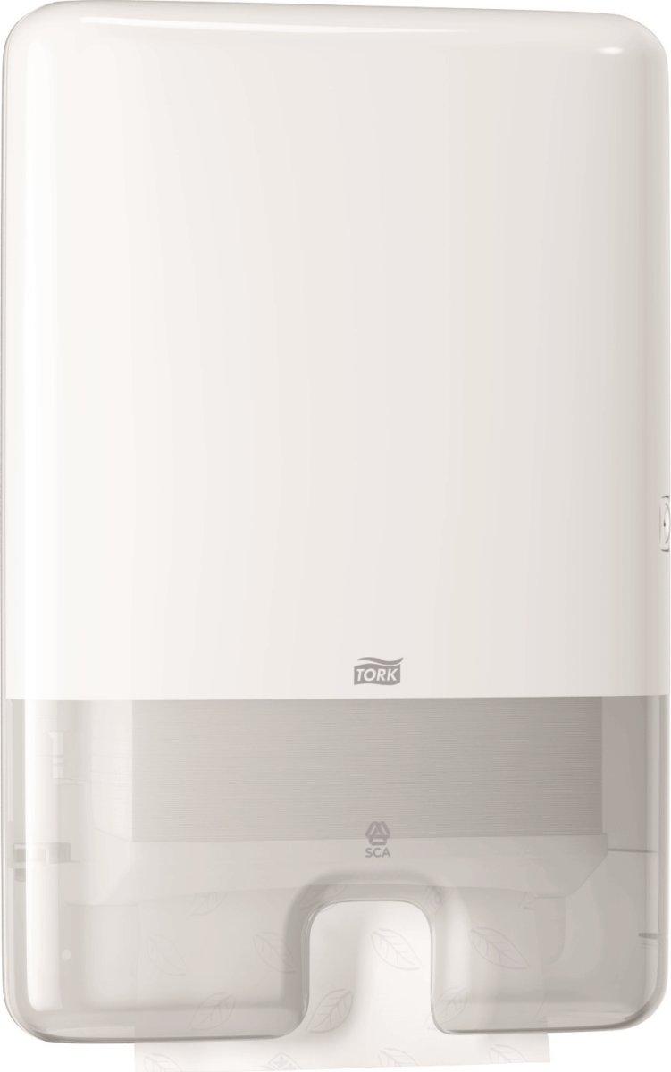 Tork H2 Xpress Dispenser Håndklædeark, hvid