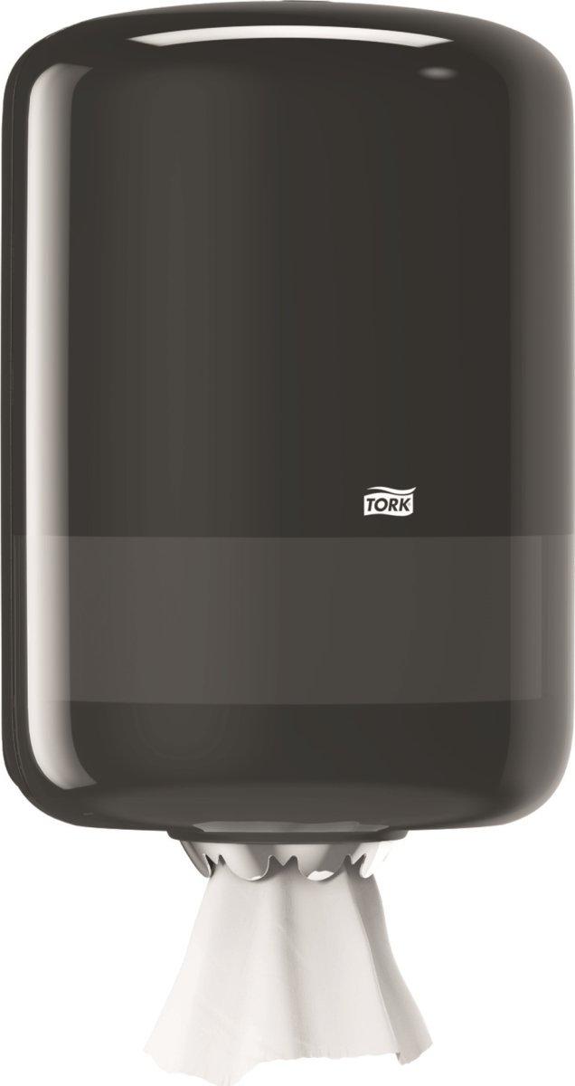 Tork M2 Dispenser Aftørringspapir, sort
