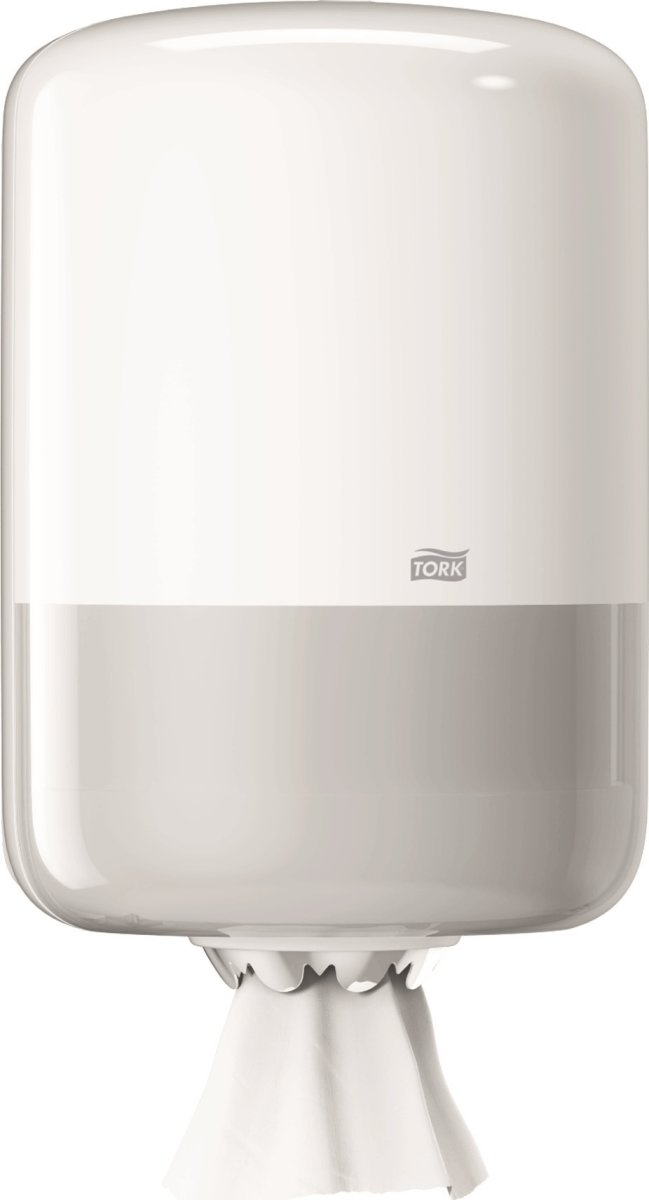 Tork M2 Dispenser Aftørringspapir, hvid