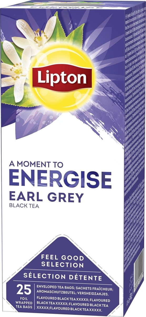 Lipton Earl Grey te, 25 x 2g