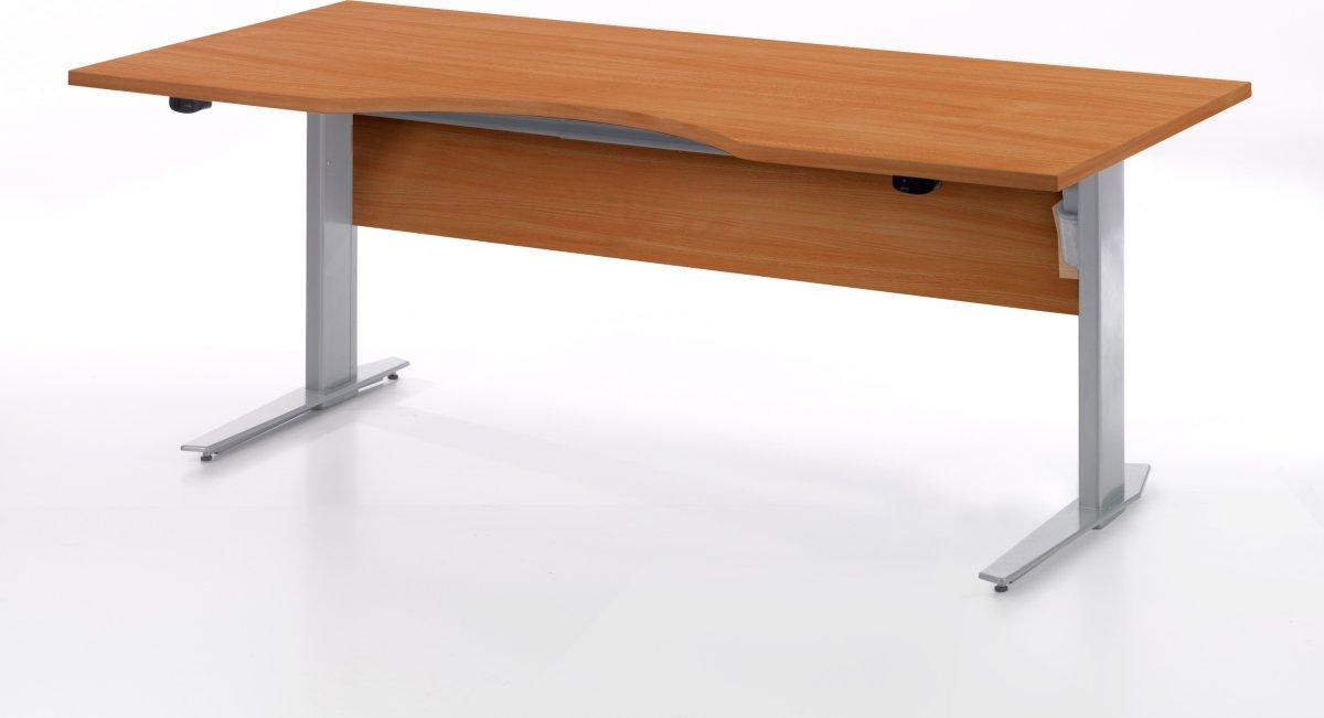 Budgetline hæve/sænkebord180x90, kirsebær