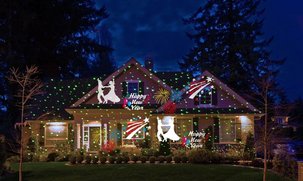 Superbly Udendørs julelys LED laser projektor - Lomax A/S GN89