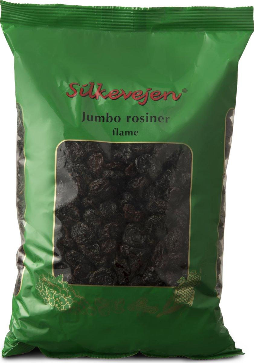 Silkevejen Jumbo Rosiner Flame, 1 kg
