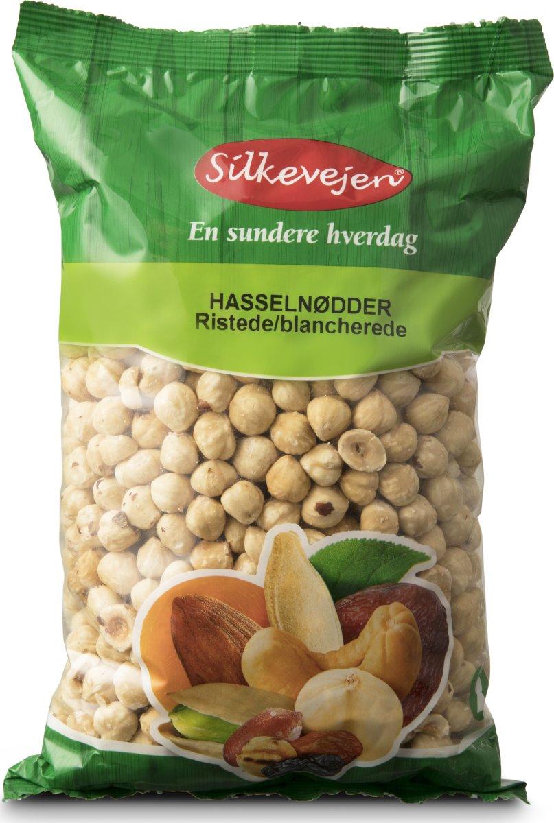 Silkevejen Hasselnødder, ristede, 1 kg