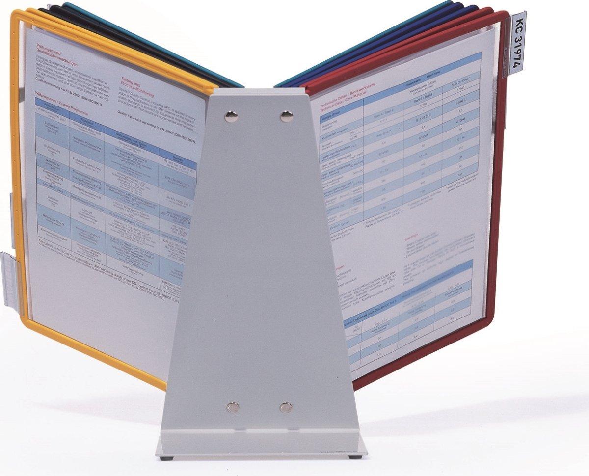 Durable Vario 10 Bord Infocenter, ass. farver