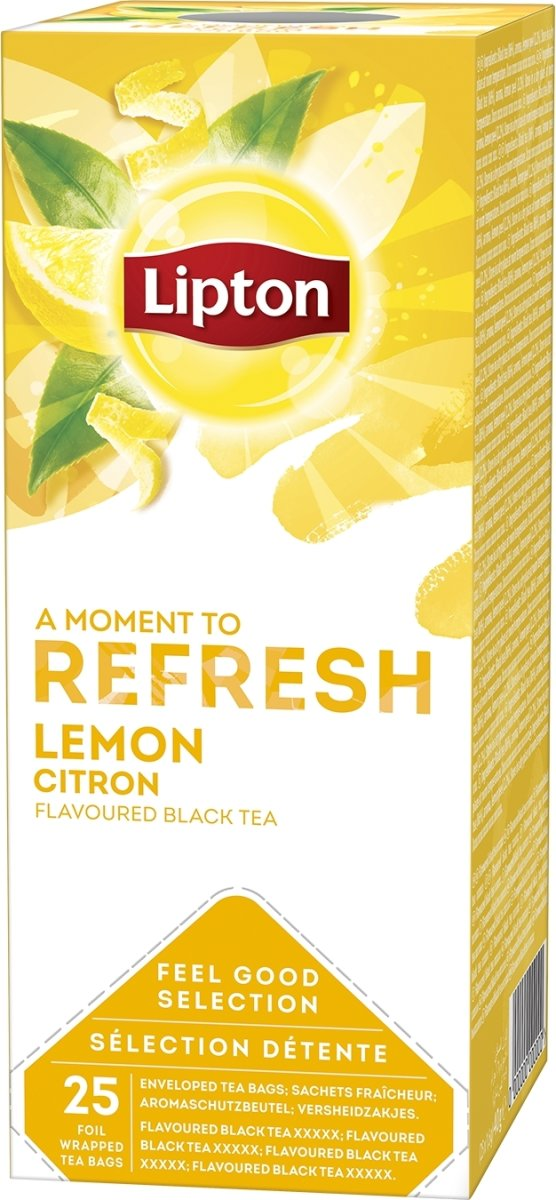 Lipton Lemon te, 25 breve á 2g
