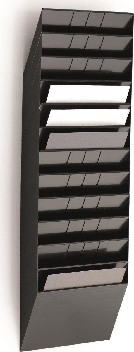 Durable Flexiboxx blanketholder, vandret, hvid