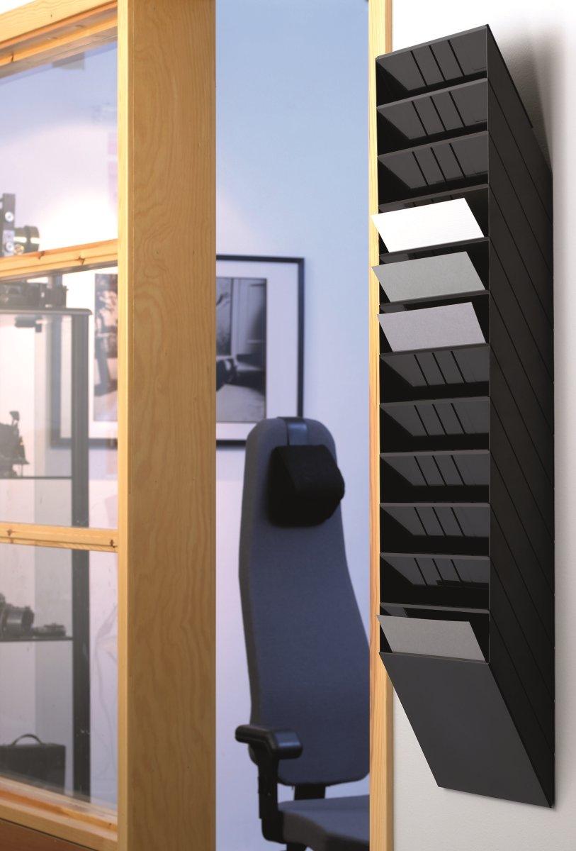 Durable Flexiboxx Brochurestativ 12 A4 tvær, sort