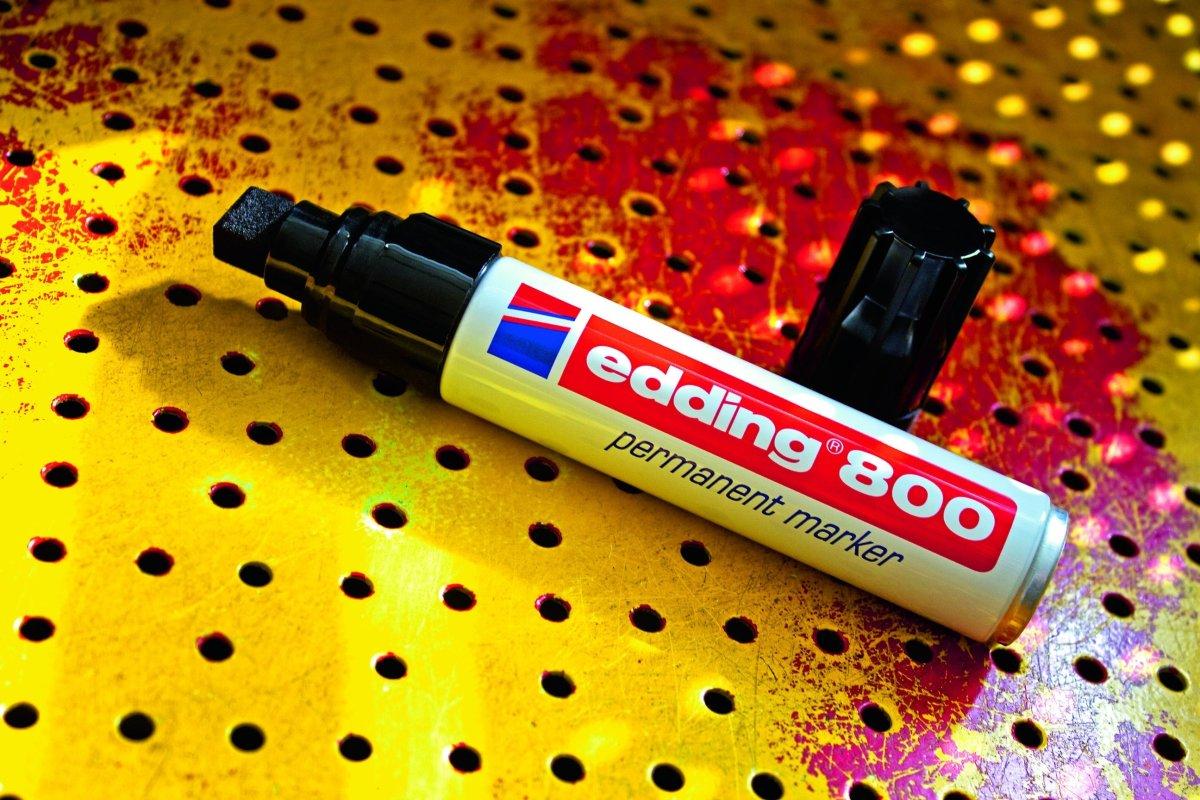 Edding 800 Permanent Marker, sort