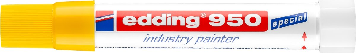 Edding 950 Industri Marker, gul