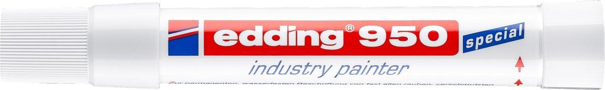 Edding 950 Industri Marker, hvid