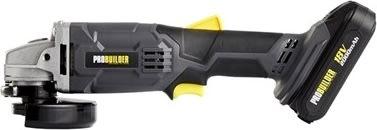 Probuilder vinkelsliber, 115 mm, akku 18V LI-ION