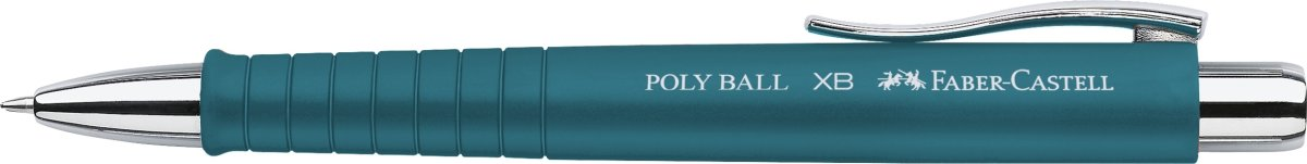 Faber-Castell Poly Ball XB kuglepen, petrol