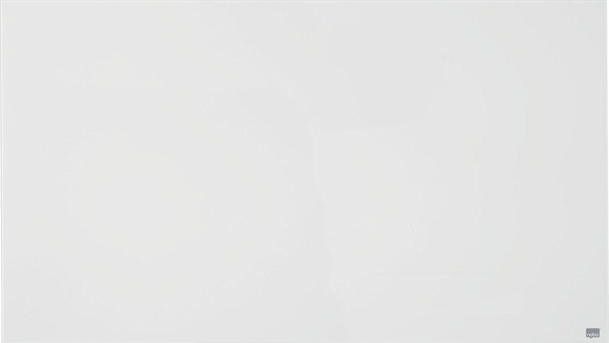 """Nobo Diamond Widescreen hvid glastavle, 57"""""""