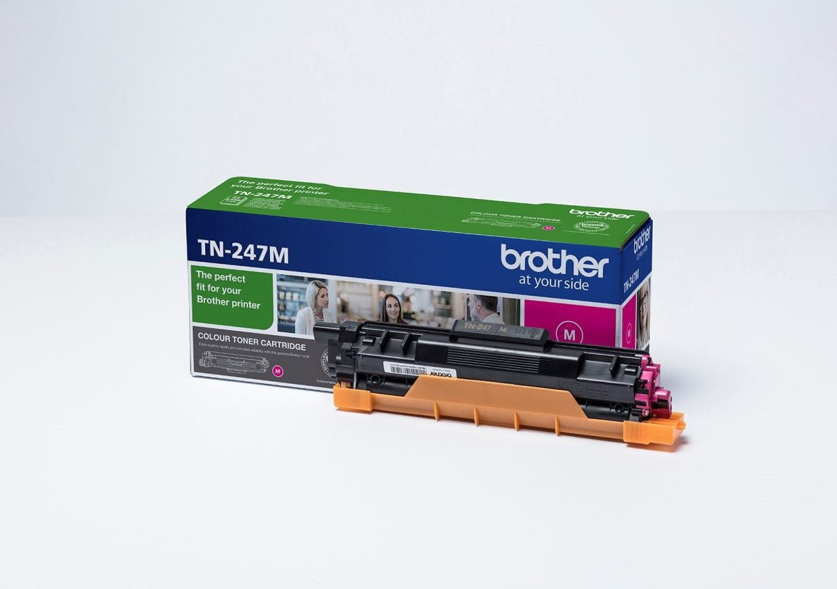 Brother TN-247M lasertoner, rød, 2.300 sider