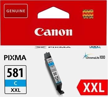 Canon CLI-581XXL blækpatron cyan, 600s