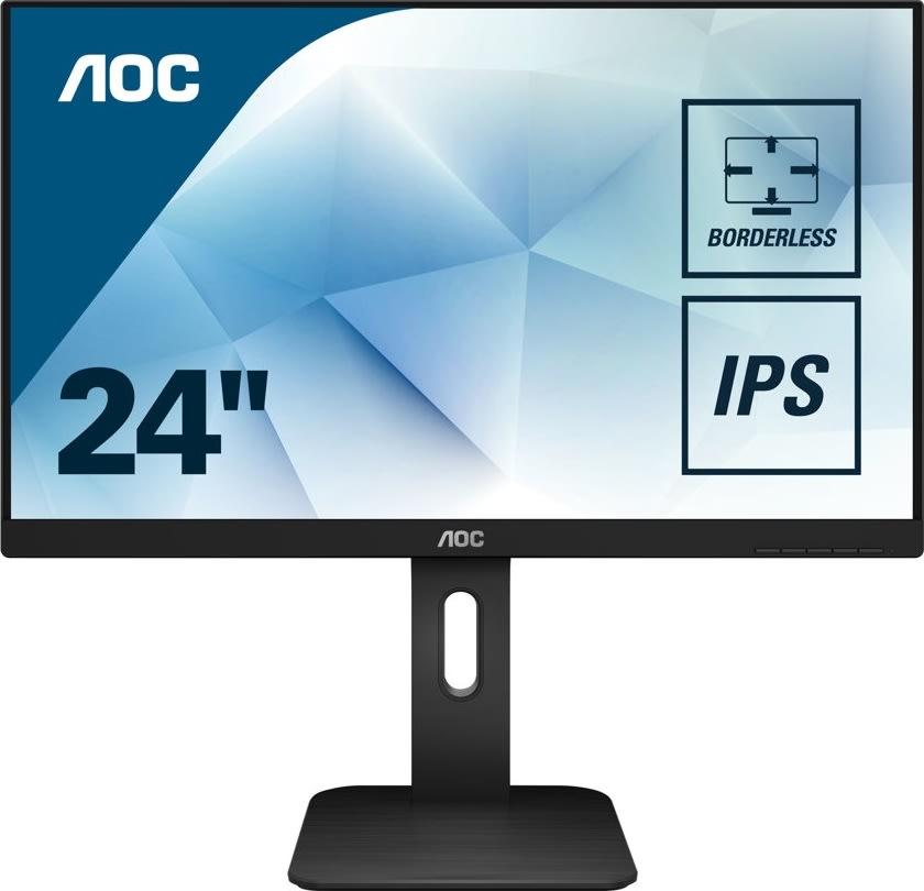 """AOC 24P1 23,8"""" LED-skærm"""