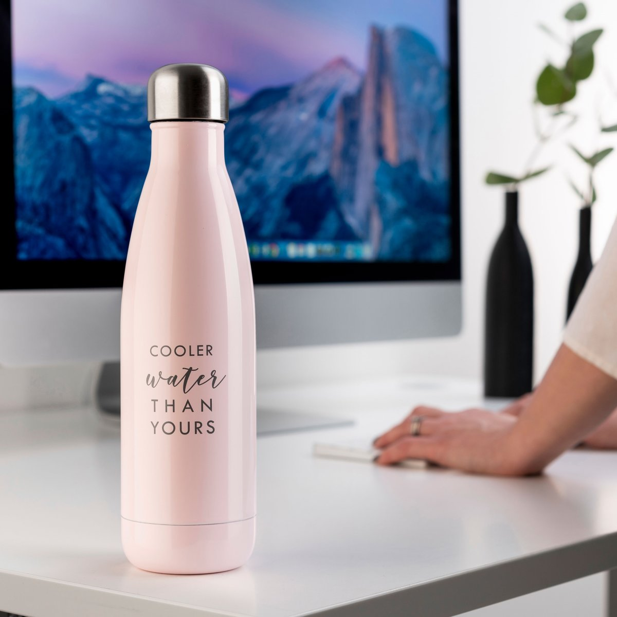 JobOut Vandflaske, pink