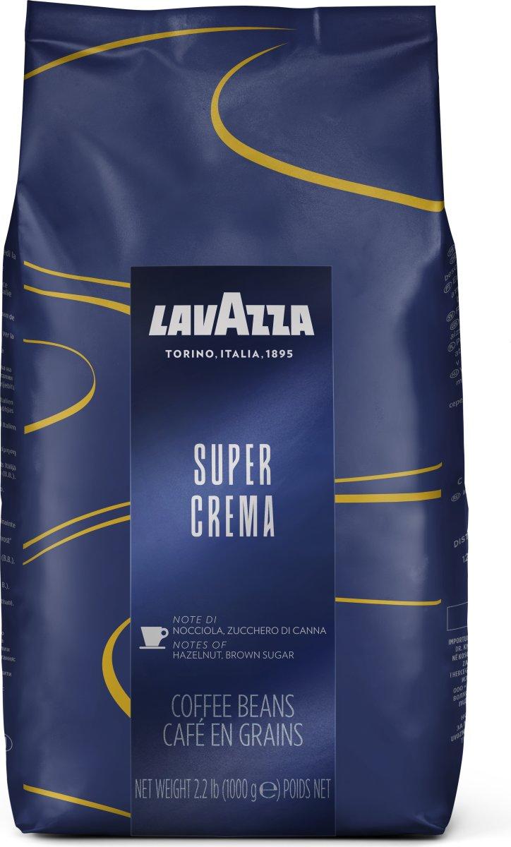 Lavazza Super Crema helbønner, 1000g