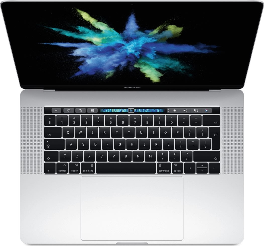 "Apple 15"" Macbook Pro (2019) 256GB, Sølv"