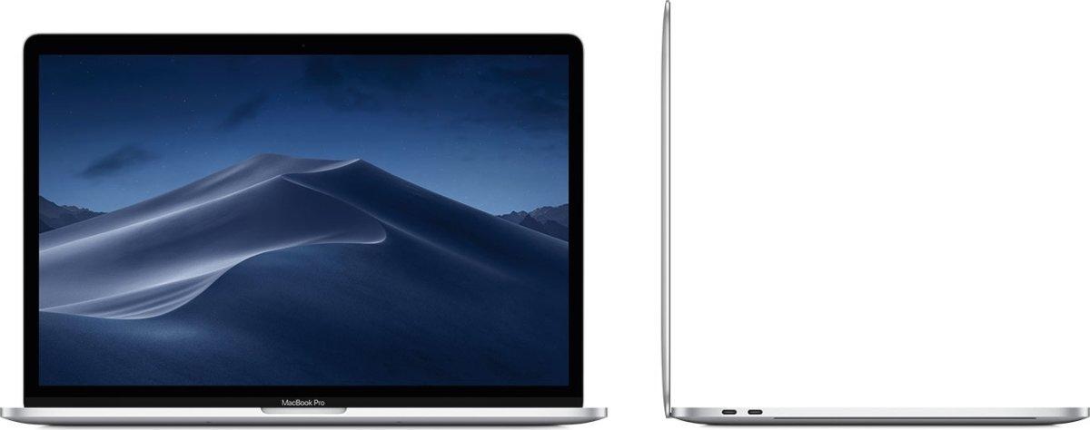 "Apple 15"" Macbook Pro (2019) 512GB, Sølv"