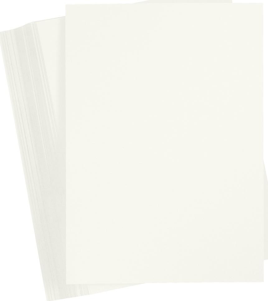 Karton Play Cut A4, 180g, A4, 100ark, elfenben
