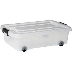 Basic bedroller, 24 l, 593x395x170, Klar