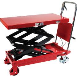 Mobilt løftebord højt løft, 350 kg, 350-1300 mm