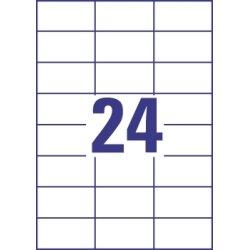 Budget Multi etiket, 70 x 37mm