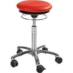 CL Pilates Air Seat, rød, kunstlæder, 52-71 cm
