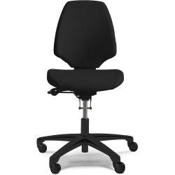 RH Activ 220 kontorstol høj ryg, medium sæde sort