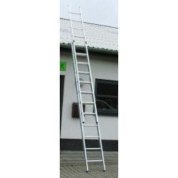Skydestige 2-delt 2x16 - Højde 8,69 m