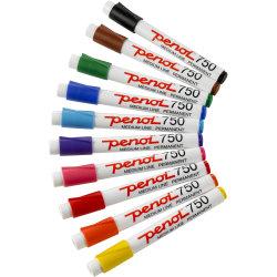 Penol 750 spritmarkere, 10 ass. farver