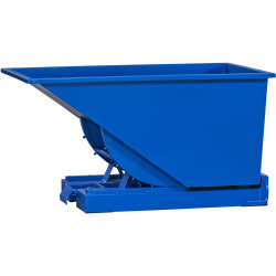 Tipcontainer 300 l, blå