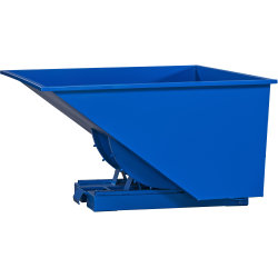 Tipcontainer 1600 l, blå