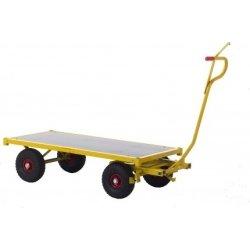 Ravendo transportvogn, 1500x700x370, Luftgummi Lav
