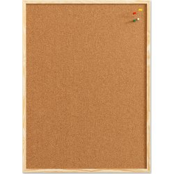 Pinboard opslagstavle, 60 x 100 cm, kork