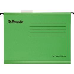 Esselte Classic hængemappe A4, grøn