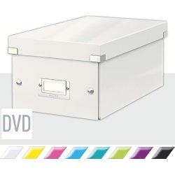 Leitz Click & Store DVD-boks, hvid