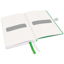 Leitz Complete notesbog A6, linjeret, hvid