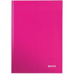 Leitz WOW notesbog A5, kvadreret, pink