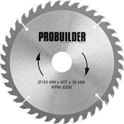 Probuilder kombi-klinge, 185x30x3,2 mm, t40