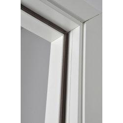 Selvklæbende tætningssliste, E-form, brun, 6 m