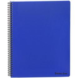 Bantex Strong-Line kollegieblok A4, linjeret, blå