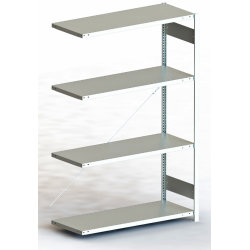 META Clip 200 kg, 250x170x60, Tilbyg, Galvaniseret