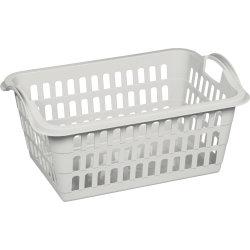 Plast Team Tøjkurv, hvid